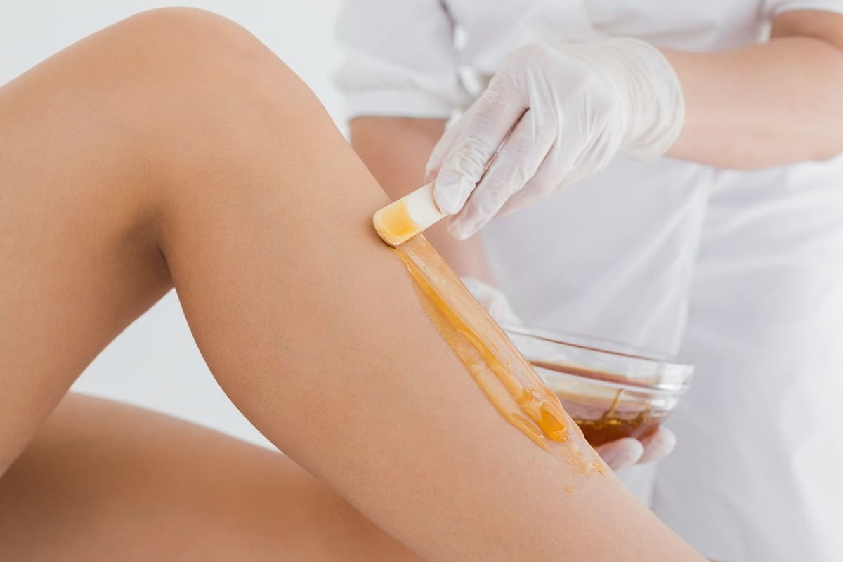 Women's Waxing Partial Leg
